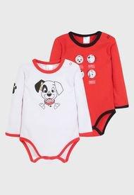 Pack Body Bebe 101 Dalmatas Dude Rojo Disney