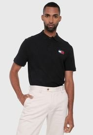 Polo Negro Tommy Jeans