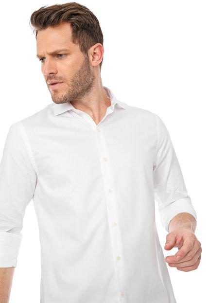 Camisa Azzaro Slim Lisa Branca