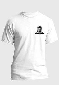 Camiseta Estampada Hombre Negro-Blanco Kuva - Astronauta