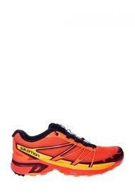 Zapatilla Naranja Salomon Running Wings Pro 2