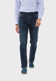 Jeans 5 Pocket Azul Guy Laroche