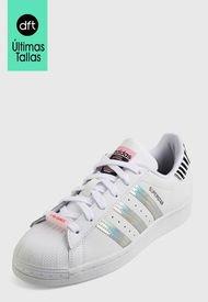 Tenis Lifestyle Blanco-Plateado adidas Originals Superstar Bold