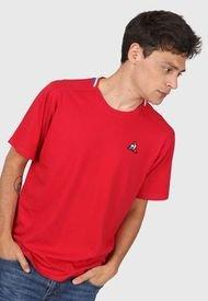 Remera Rojo Le Coq Sportif Iconic