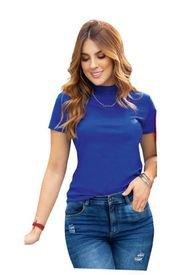 Camiseta Para Mujer Azul Rey ATYPICAL