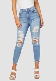 Jeans Blake H Cropped Uneven Hem Celeste G Factory