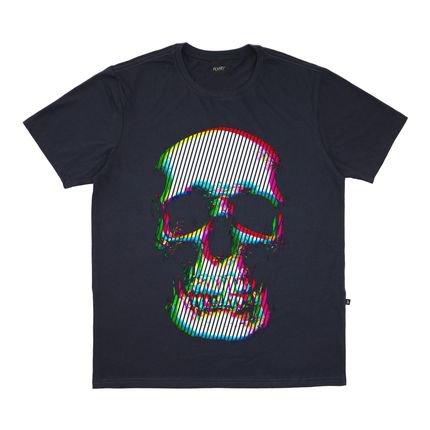 Camiseta Alkary Caveira Cromia Chumbo