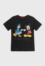 Polera Niño Mickey Saludo Secreto Gris Disney Disney