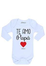 Pilucho Te Amo Papá Blanco Calambur