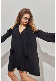 Vestido Negro 47 Street Owel