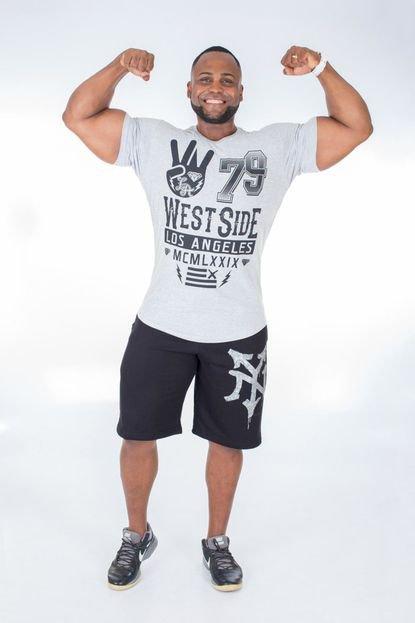 Camisa Império Fitness Long Império Fitness West Side Mescla