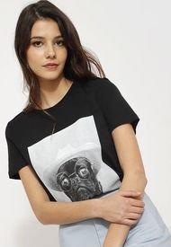 Polera Vero Moda Negro - Calce Regular