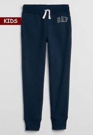 Pantalón Azul Navy-Blanco GAP Kids