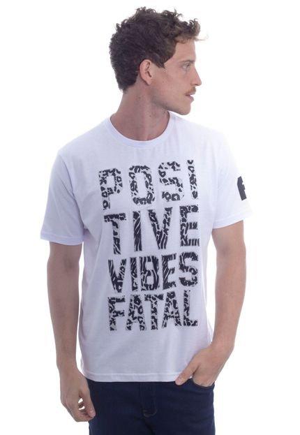 Camiseta Fatal Básica Branca