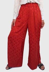 Pantalón Pippa Rojo - Calce Holgado