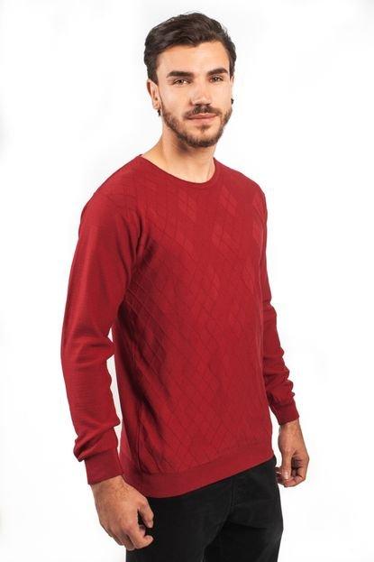 Blusa Algodão Fino Tricoport Losango Vermelho
