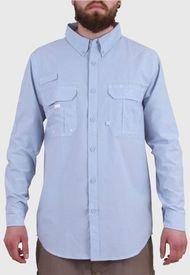 Camisa Duck Dry Outdoors Celeste HW