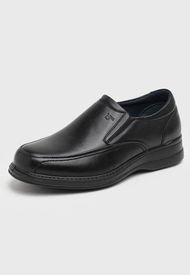 Zapato Casual Cuero Negro 16hrs