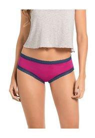 Panty Hipsters Y Cacheteros Fucsia Leonisa 012898