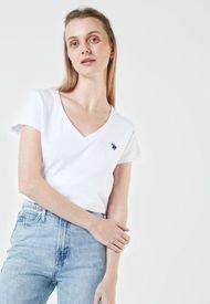 Camiseta Blanco-Rosado Us Polo Assn
