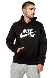 Buzo Negro Nike Icon Hoodie Po Essnl