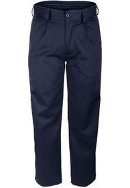 Pantalón Gabardina Ejecutivo Pinzado Azul Rossignol