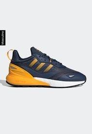 Tenis Lifestyle Azul Navy-Amarillo-Blanco adidas Originals ZX 2K Boost Hombre 2.0