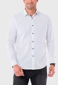 Camisa Print Blanco Arrow