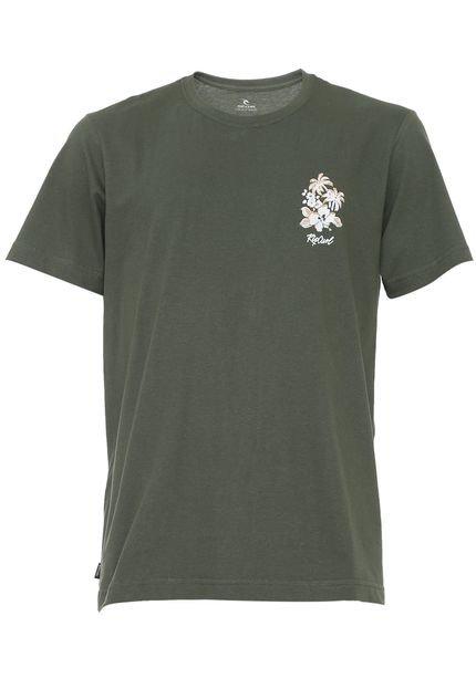 Camiseta Rip Curl Da Vine Verde