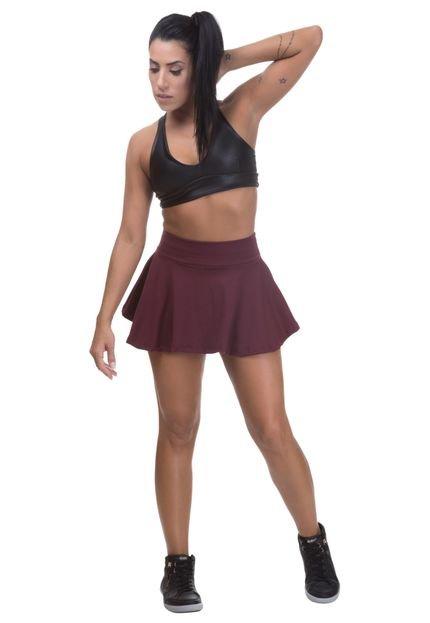 Miss Blessed Shorts Saia Colegial Miss Blessed Premium Poliamida Marsalla BG9VT