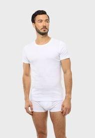 Camiseta Bipack Cuello Redondo Blanco Arrow