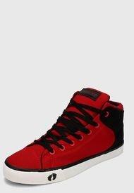 Tenis Rojo-Negro-Blanco HANG TEN