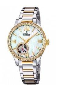 Reloj Automatico Plateado Festina