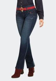 Jeans Clásico Push Up Cipres Azul Marino Mujeron