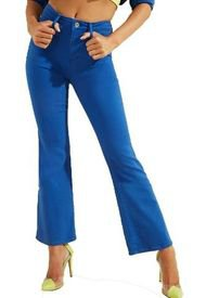 Jeans 1981 Flare Ankle G7W0 Azul Guess