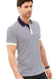 Camiseta Polo Para Hombre Azul Navy MP