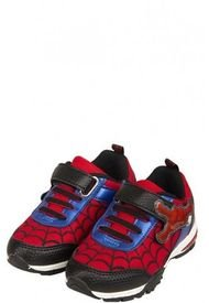 Zapatilla Luces Spidy Rojo Spiderman Marvel