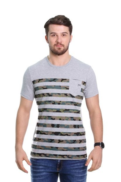 Camiseta Javali Camuflada Mescla