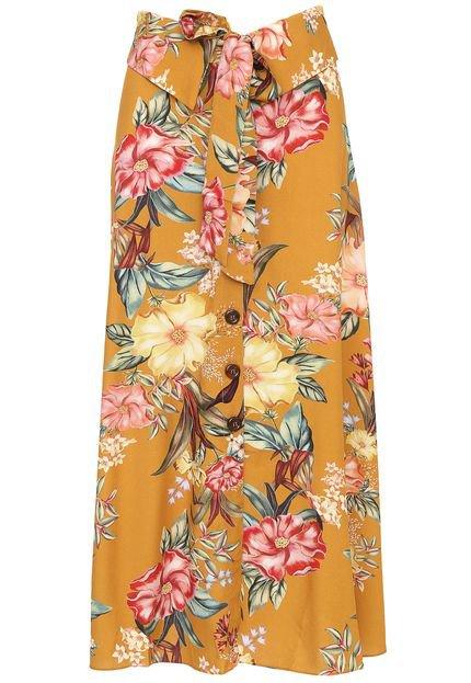 Dress to Saia Dress to Midi Hera Amarelo I3CE3