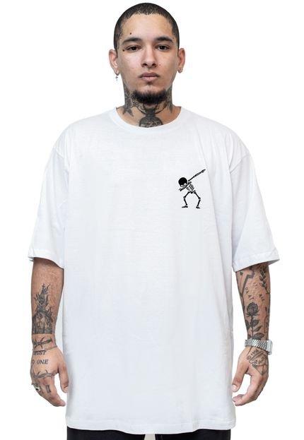 Camiseta Manga Curta Skull Clothing Little Branco