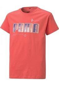 Remera Moda Puma Alpha Tee Niñas