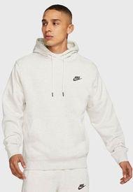 Polerón Nike M NSW PO SB HOODIE REVIVAL Blanco - Calce Regular