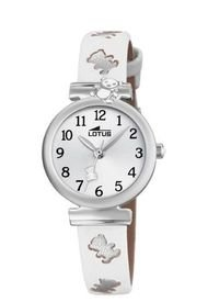 Reloj Junior Collection Blanco Lotus