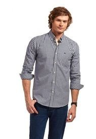Camisa Manga Larga Checkered College Multicolor Ferouch