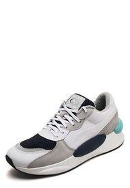 Tenis Lifestyle Blanco-Azul Puma Rs.9.8 Cosmic