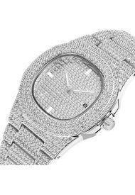 Reloj Hip Hop - Plata