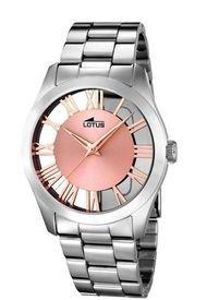 Reloj Trendy Plateado Lotus