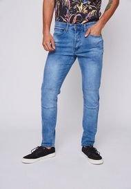 Jeans Jogger Confort Azul Family Shop