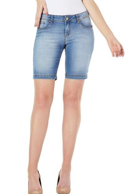 Sideral Bermuda Jeans Sideral Azul tS19k
