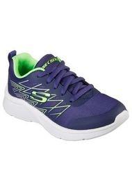 Zapatilla Microspec Quick Sprint Azul Skechers